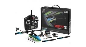 Радиоуправляемый вертолет WLToys V911S 4Ch 2.4G RTF 9