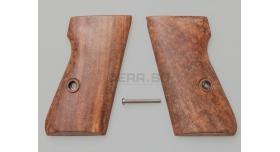 Накладки для пистолета Walther PP/PPK / Дерево [вал-12]