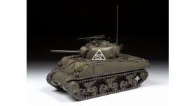 Сборная модель ZVEZDA Американский средний танк М4А2 &quotШерман&quot, 1/35 1