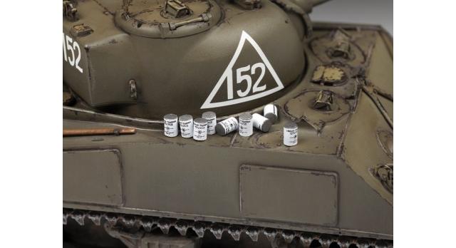 Сборная модель ZVEZDA Американский средний танк М4А2 &quotШерман&quot, 1/35 4