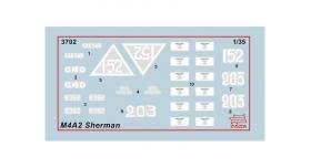 Сборная модель ZVEZDA Американский средний танк М4А2 &quotШерман&quot, 1/35 6