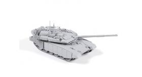 Сборная модель ZVEZDA Российский основной боевой танк Т-90 МС, 1/72 1