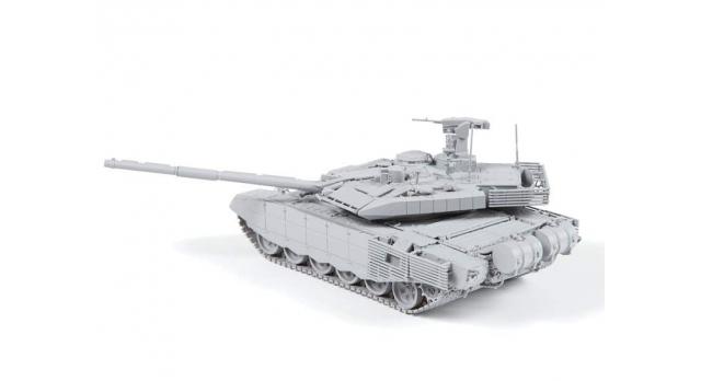 Сборная модель ZVEZDA Российский основной боевой танк Т-90 МС, 1/72 2
