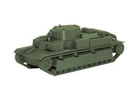 Сборная модель ZVEZDA Советский легкий танк Т-28, 1/100
