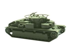 Сборная модель ZVEZDA Советский легкий танк Т-28, 1/100 1