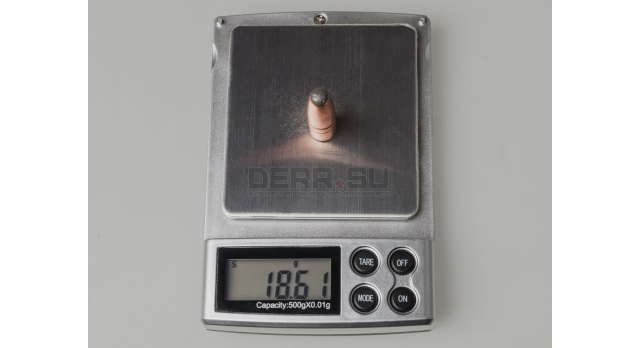 Пуля 9.3-мм (9.3х64-мм, 9.3х62-мм) / Полуоболоченая 18,6 грамм [пул-50]