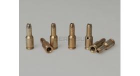 Картриджи для пистолета ТТ-С / Латунные комплект из 7-ми штук под капсюль Жевело [тт-104]