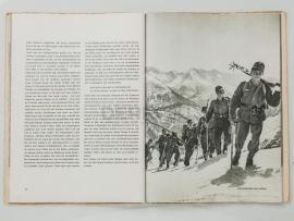 9578 Книга «Wir tragen stoß das Edelweiß» (Агитационная книга о службе горных егерей)