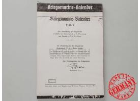 Календарь Кригсмарине «Kriegsmarine-kalender»