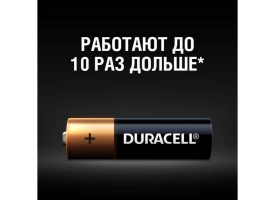 Батарейка DURACELL AA LR6 BP-16 (1 шт) 1
