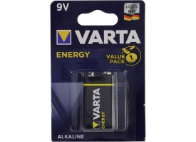 "Батарейка VARTA 4122 ENERGY 9V, ""Крона"", Alkaline (1шт)"