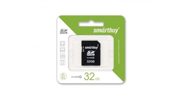 Карта памяти SMART BUY microSDHC-32 Gb class 10 2
