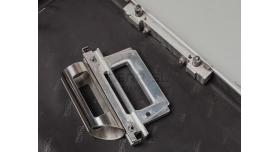 Комплекс скрытого ношения автомат-чемодан /  Оригинал 90-х годов алюминиевый [нг-106]