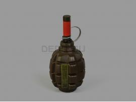 9815 Страйкбольная мина-растяжка граната Ф1 [Горох] (PyroFX F-1S)