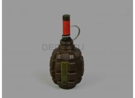 Страйкбольная мина-растяжка граната Ф1 [Горох] (PyroFX F-1S)