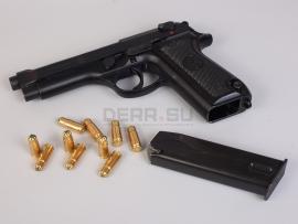 9903 Охолощенный пистолет Beretta 92S-O (калибра 9х19 мм Blank) Оригинал