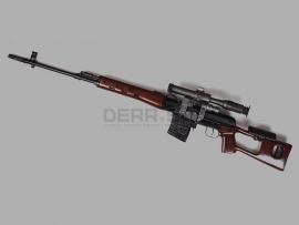 9929 Охолощенная снайперская винтовка Драгунова (СВД)