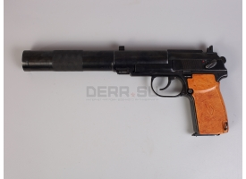 Охолощенный пистолет бесшумный ПБ (ГРАУ 6П9)